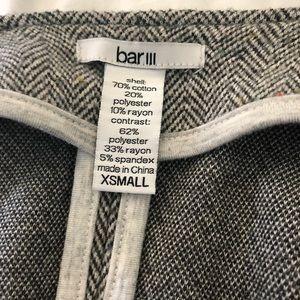 Bar III Gray Crop Jacket - XS